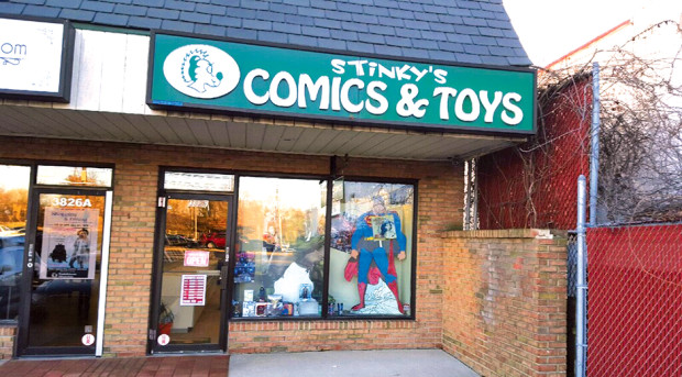 Stinkys Comic & Toys